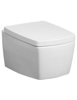 Touch Wall Mounted WC Pan With Soft Close Seat - ED6006CW