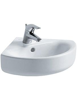 Ideal Standard Concept Arc 45cm 1 TH Corner Handrinse Basin - E792801