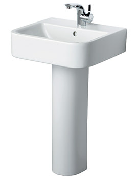 Create 500mm Square Basin With Pedestal