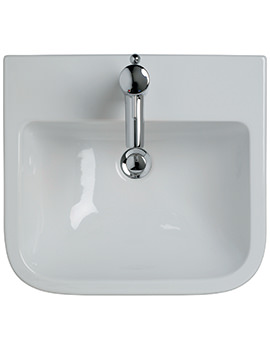 Create Square 500mm Semi Countertop Basin - E310201