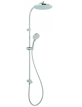 Shower Rigid Riser Kit With Diverter And Integral Outlet