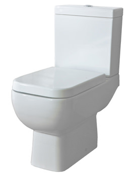 RAK Series 600 Close Coupled WC Pack With Standard Seat 600mm