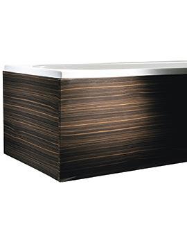 Heritage Fresso 1700mm Front Bath Panel Dark Zebrano - FFZ00