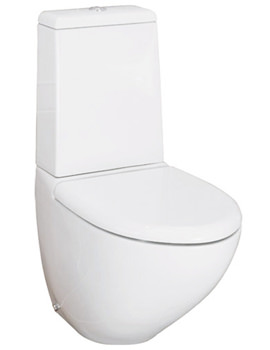 Reserva Dual Flush Close Coupled WC With Soft Close Seat 640mm