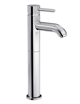 Image of Abode Harmonie Tall Single Lever Basin Mixer Tap - AB1189