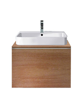 Related Duravit Happy D Sycamore 700mm Wall Hung Vanity Unit