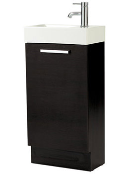 Phoenix Zola Negro Basin And Base Vanity Unit 450mm - FQ010