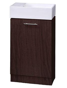 Aqva Valencia Compact Bathroom Vanity Unit 475mm  - VTY041