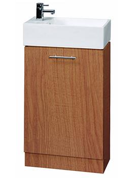 Aqva Ella Small Bathroom Vanity Unit 475mm - VTY067