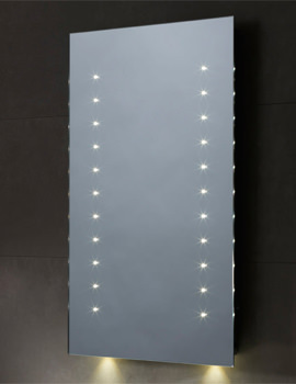 Momentum LED Illuminated Bathroom Mirror 450mm x 700mm