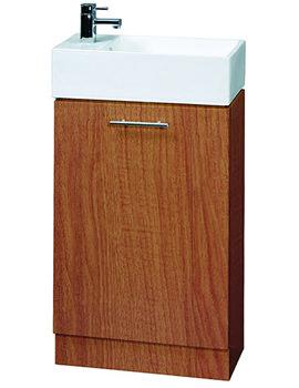 Aqva Mode Small Bathroom Vanity Unit 475mm - VTY042