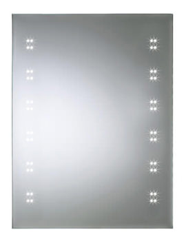 Crystal 600mm LED Bathroom Mirror - 100004