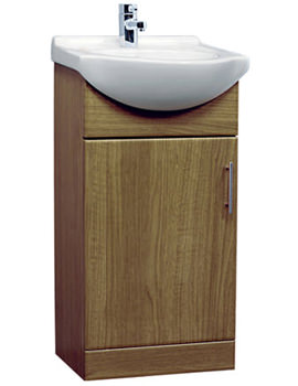 Essential Gem Vanity Basin Unit Calvados 450mm - GEM005C
