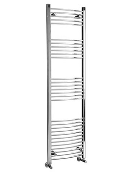 Related Phoenix Gina Curved Designer Towel Rail 500mm x 1200mm - RA017