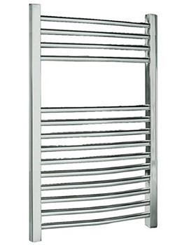 Beo Curved Multirail Heated Towel Rail 500mm x 1200mm