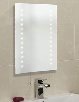 Roper Rhodes Clarity Atom LED Illuminated Mirror 600 x 450mm - TR2002