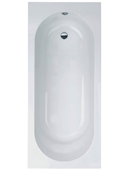 Modena Single Ended Standard Bath 1700 x 750mm - MODBT102