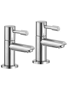 Mayfair Series F Basin Taps Pair - SFL001