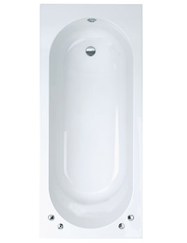 Verona Single Ended Standard Bath 1800 x 800mm - VERBT117