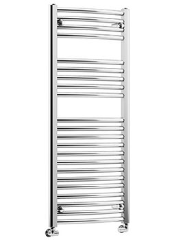 Related DQ Heating Orion 500 x 1000mm Curved Heated Towel Rail Chrome