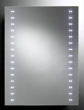 Pulse LED Mirror With Infra Red - MLE310