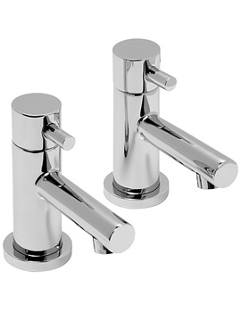 Vado Zoo Basin Pillar Tap Pair - ZOO-106