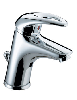 Java Basin Mixer Tap With Pop-up Waste - J BAS C