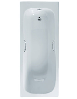 Marina Idealform Plus Bath With Grip 1700 x 700mm