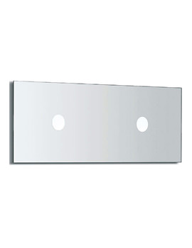 Veranda Mirror With Light 1100mm Wide - 812168000
