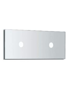 Veranda Mirror With Light 1100mm Wide - 812168000