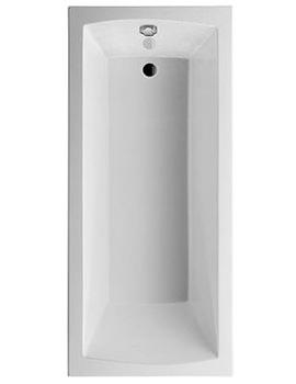 Duravit Daro Rectangular Bath 1700x750mm With Support Frame - 700029