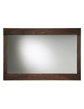 Karma Walnut Framed Mirror 900mm - KRMMAW