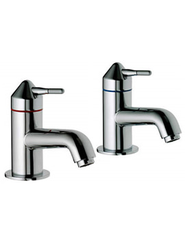 Related Aqualisa Axis Basin Taps Chrome - AX0211