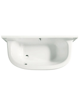 Frontalis Acrylic Bath With Moulded Front Panel - 247717001