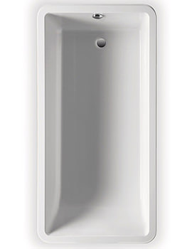 Roca Element Single Ended Acrylic Bath Ungripped 1800mm - 247704000