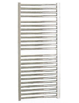 Straight White Towel Warmer 600 x 1110mm - 148209