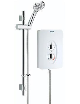 Bristan Smile 9.5kW Electric Shower White - SM295 W