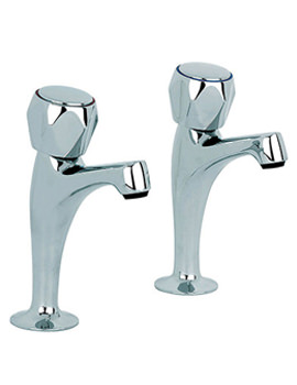 Mayfair Alpha High Neck Pair of Kitchen Tap - KIT127