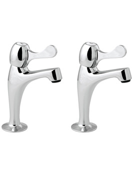 Lever Action Contract Sink Pillar Taps - CNTL03