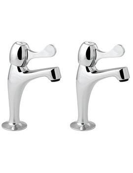 Lever Action Contract Sink Pillar Taps - CNTL03