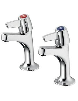 Armitage Shanks Sandringham 21 Chrome Sink Pillar Taps - B9885AA
