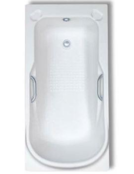Trojan Premier Single Ended Bath 1400 x 700mm White