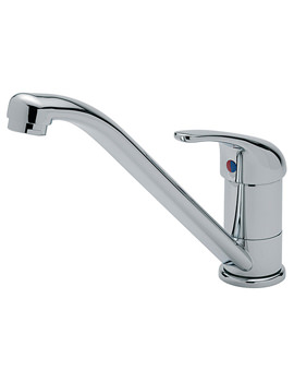 Luna Chrome Mono Sink Mixer Tap - 169