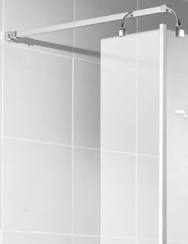 Manhattan Wetroom Return Panel 300mm - M3CL30WRC
