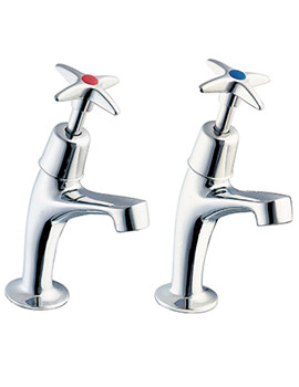 Cross Handle Sink Taps - 183X