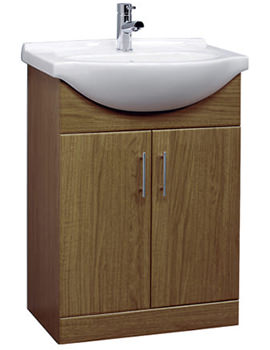 Gem Calvados Vanity Basin Unit 550mm - GEM001C
