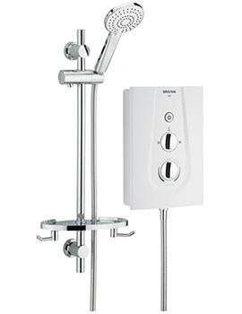 Bristan Joy 8.5 kW White Electric Shower - JOYT85 W