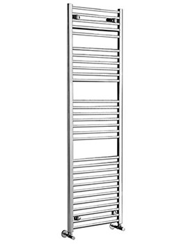 Phoenix Flavia Straight 12 Rails White Towel Rail 300 x 800mm - RA500