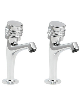 Solerno Sink Taps Chrome - SOLE103