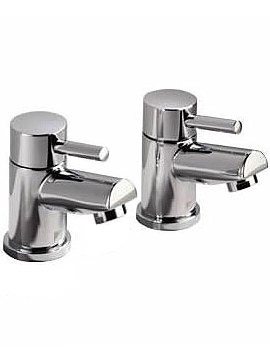 Storm Basin Taps [Pair] Chrome - T227002